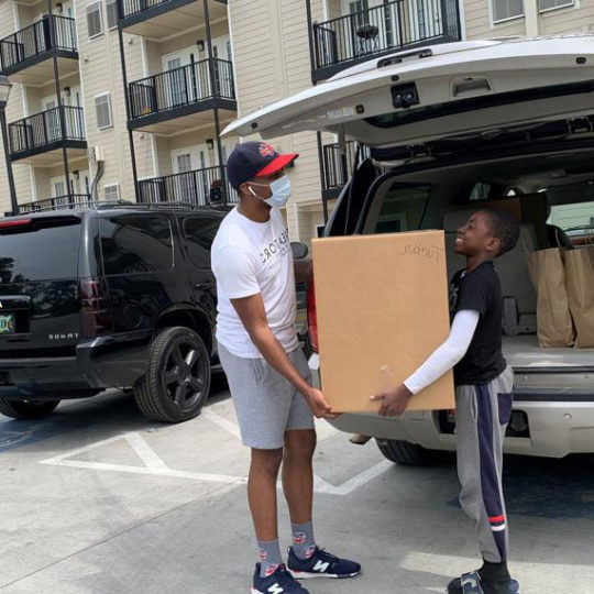 How help for hungry kids also gives black business a boost